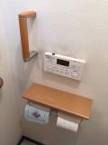 トイレ手摺り取付工事