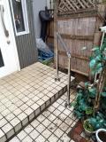 玄関手摺り取付工事