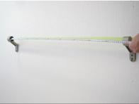 ブラケット間の距離を測る
