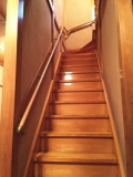和壁(真壁)階段手すり 取付工事画像