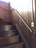 階段手すり 取付工事画像
